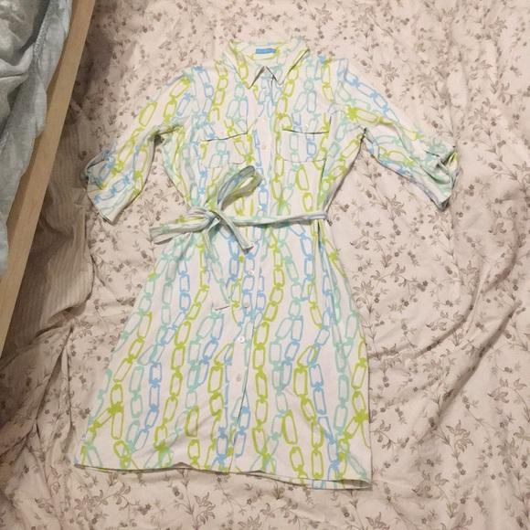 J. McLaughlin Button Down Dress